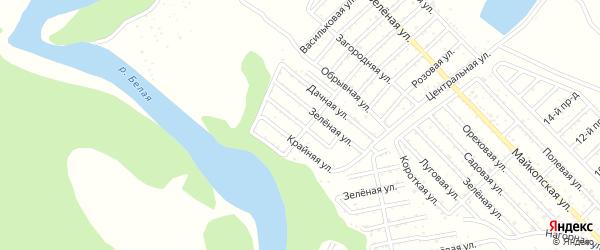 Голубая улица на карте Джанатана с номерами домов