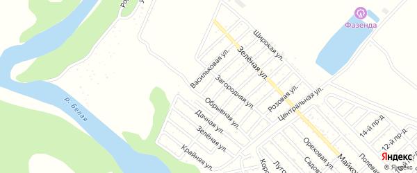Улица 6 Линия на карте Джанатана с номерами домов