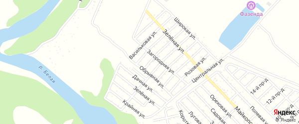Улица 5 Линия на карте Джанатана с номерами домов