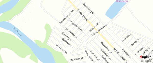 Улица 3 Линия на карте Джанатана с номерами домов