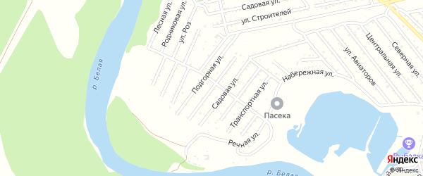 Удобная улица на карте Красноречия с номерами домов