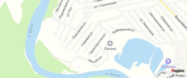Строительная улица на карте Эры с номерами домов