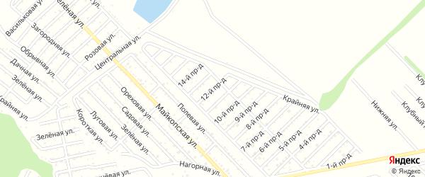12-й проезд на карте Проектировщика с номерами домов