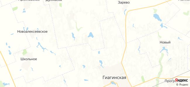 Касаткин на карте