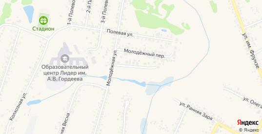Холмистый переулок в Боброве с номерами домов на карте. Спутник и схема онлайн