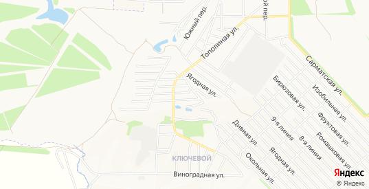 Карта поселка Интеграл в Новочеркасске с улицами, домами и почтовыми отделениями со спутника онлайн