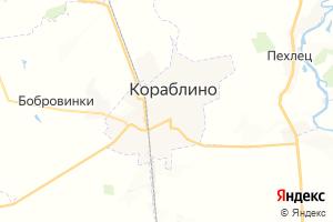 Карта г. Кораблино Рязанская область