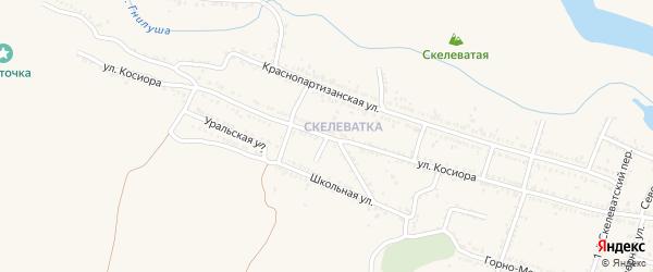 Скелеватский 7-й переулок на карте Красного Сулина с номерами домов