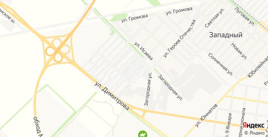 Карта садового некоммерческого товарищества Садовод-2 в Майкопе с улицами, домами и почтовыми отделениями со спутника онлайн