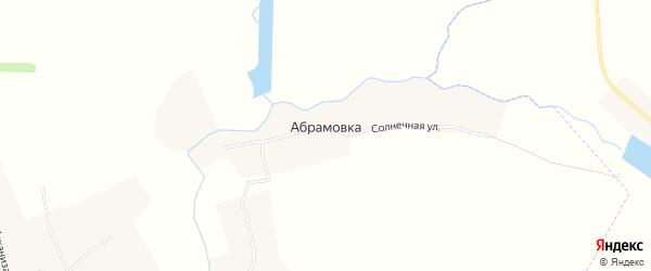 Карта деревни Абрамовки в Воронежской области с улицами и номерами домов