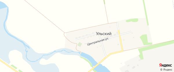 Северная улица на карте Ульского поселка Адыгеи с номерами домов