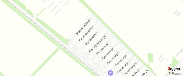 Крайняя улица на карте Птицевода с номерами домов