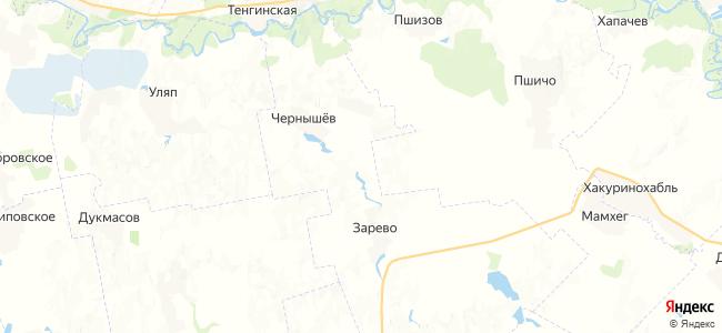 Ульский на карте