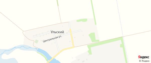 Парковая улица на карте Ульского поселка Адыгеи с номерами домов