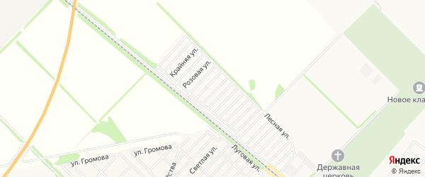 Территория днт Птицевод на карте Майкопа с номерами домов