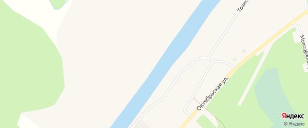 Верхняя Набережная улица на карте поселка Волошки с номерами домов
