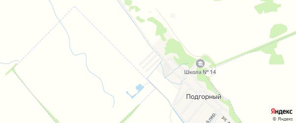 Карта садового некоммерческого товарищества Надежды города Майкопа в Адыгее с улицами и номерами домов