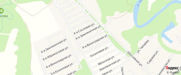 Абрикосовая 4-я улица на карте Табачного поселка с номерами домов