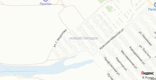 Луговая улица в Тихорецке с номерами домов на карте. Спутник и схема онлайн