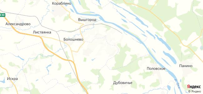 Лысцево на карте