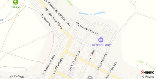 Улица Красный Путь в Павловске с номерами домов на карте. Спутник и схема онлайн