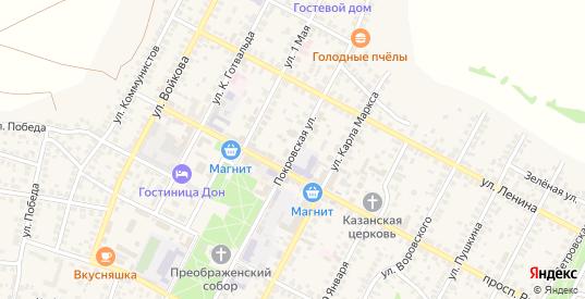 Покровская улица в Павловске с номерами домов на карте. Спутник и схема онлайн
