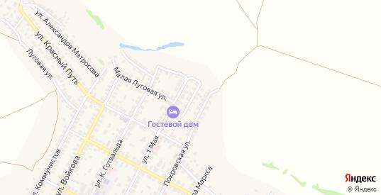 Песчаная улица в Павловске с номерами домов на карте. Спутник и схема онлайн