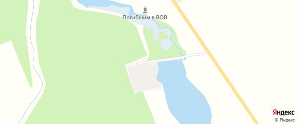 Яблочная улица на карте Гиагинской станицы Адыгеи с номерами домов