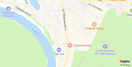 Улица Маяковского в Павловске с номерами домов на карте. Спутник и схема онлайн