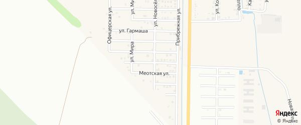 Изумрудный переулок на карте Северного поселка с номерами домов