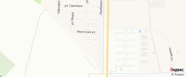 Береговой переулок на карте Северного поселка с номерами домов