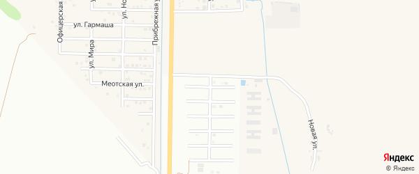 Улица Н.Кутенко на карте Майкопа с номерами домов