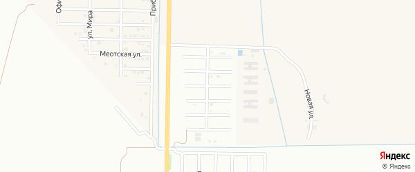 Улица В.Тюкова на карте Майкопа с номерами домов