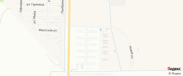 Улица П.Степаненко на карте Майкопа с номерами домов