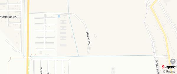 Новая улица на карте Северного поселка с номерами домов
