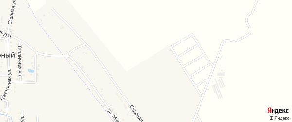 Мартовская улица на карте хутора Северо-Восточные Садов Адыгеи с номерами домов
