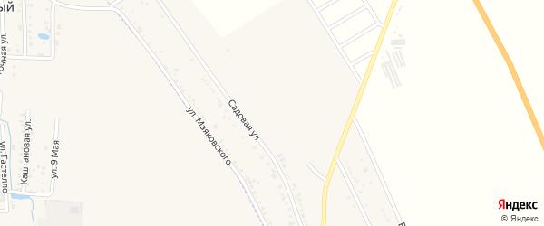 Февральская улица на карте хутора Северо-Восточные Садов Адыгеи с номерами домов