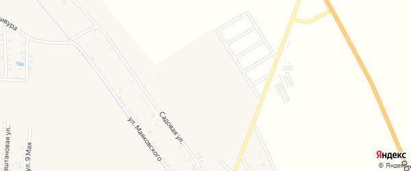 Июньская улица на карте хутора Северо-Восточные Садов с номерами домов