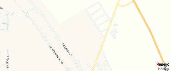 Ноябрьская улица на карте хутора Северо-Восточные Садов Адыгеи с номерами домов