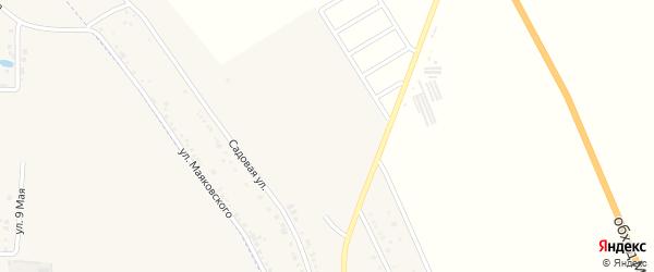 Августовская улица на карте хутора Северо-Восточные Садов Адыгеи с номерами домов