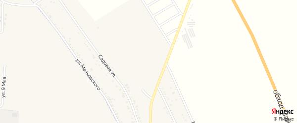 Сентябрьская улица на карте хутора Северо-Восточные Садов Адыгеи с номерами домов
