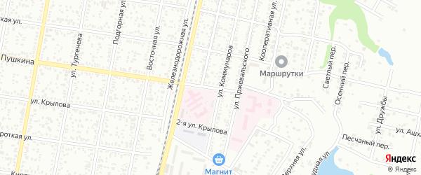 Подгорная 2-я улица на карте Озерного с номерами домов