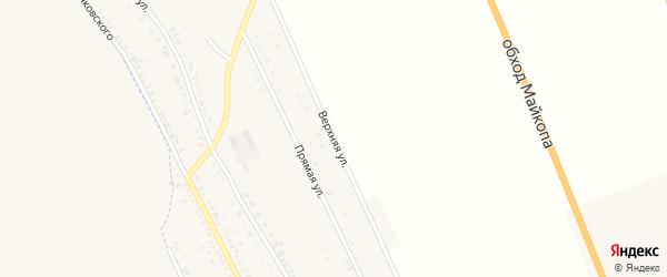 Верхняя улица на карте хутора Северо-Восточные Садов Адыгеи с номерами домов