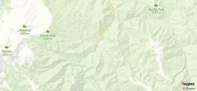 Гузерипль на карте