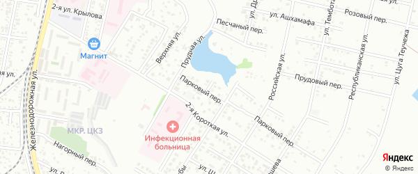 Переулок Братьев Соловьевых на карте Майкопа с номерами домов