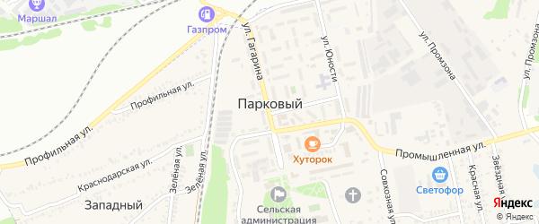 Кленовая улица на карте Паркового поселка Краснодарского края с номерами домов