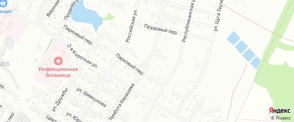Д.Нехая улица на карте Майкопа с номерами домов
