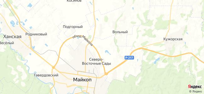 Дьяков на карте
