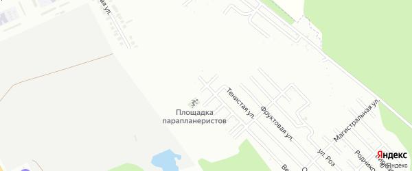 Ореховая улица на карте Зари с номерами домов