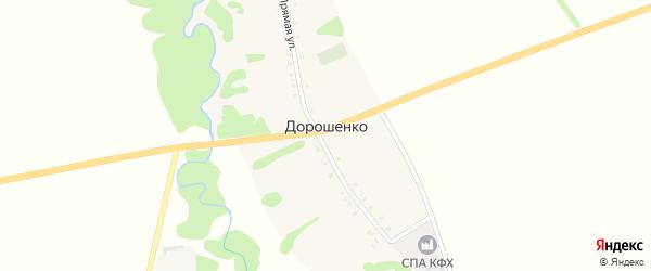 А/Д Подъезд к х. Дорошенко на карте хутора Дорошенко Адыгеи с номерами домов